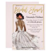 Change Color - Fashion Bridal Shower Invitations