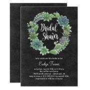 Charming Succulents Bridal Shower
