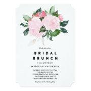 Chic Romance | Bridal Shower Brunch Invitations