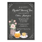 Chic Teacup Chalkboard Bridal Shower