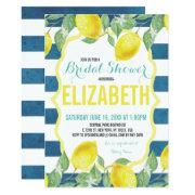 Citrus Themed Bridal Shower Invitations