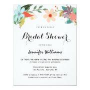 Colorful Floral Bridal Shower