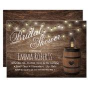 Country Lantern & Wine Barrel Bridal Shower