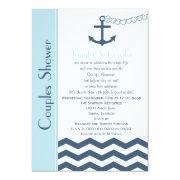Couples Coed Wedding Shower  - Nautical