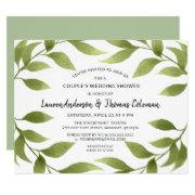 Couple's Shower Botanical Watercolor Willows