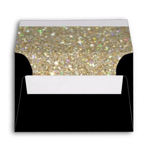 Custom Envelope - (4x6) Black Fab