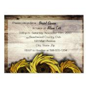 Customizable Sunflowers Invite
