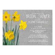Daffodil Bridal Shower