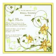 Daffodills Invitation