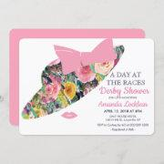 Day At The Races Bridal Shower Invitation