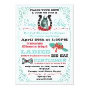Derby Horse Racing Bridal Shower