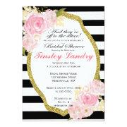 Derby Theme Bridal Shower Invitations