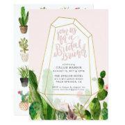 Desert Succulent Bridal Brunch  - Pink