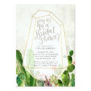Desert Succulent Bridal Shower  - Stone