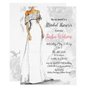 Designer Wedding Dress Elegant Bridal Shower