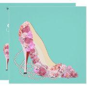 Diamonds & Flowers Heels Shower Party