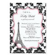 Eiffel Tower Pink Paris Bridal Shower