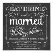 Elegant Couple's Wedding Shower
