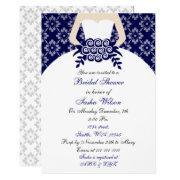 Elegant Navy Blue Bridal Shower