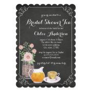 Elegant Teacup Chalkboard Bridal Shower