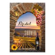 Elegant Vineyard Wine Bridal Shower
