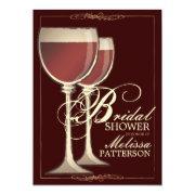 Elegant Wine Themed Bridal Shower