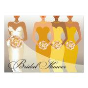 Ethnic Bride Bridal Shower | Yellow