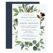 Eucalyptus Grove Bridal Shower Invitations