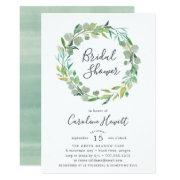 Eucalyptus Wreath Bridal Shower