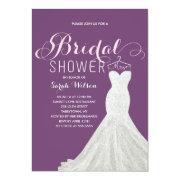 Extravagant Dress Custom Color | Bridal Shower