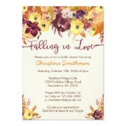 Fall Bridal Shower  - Falling In Love