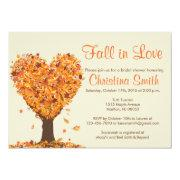 Fall Bridal Shower  - Fall In Love