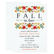 Fall In Love, Bridal Shower
