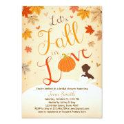 Fall In Love Bridal Shower  Autumn