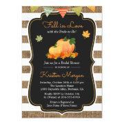 Fall In Love With Bride To Be Autumn Bridal Shower