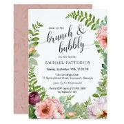 Fantasy Floral Brunch And Bubbly Bridal Shower