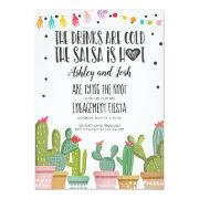 Fiesta Engagement Invitation Bridal Shower Couples