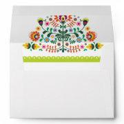 Fiesta Wedding  Mexican Envelopes