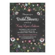 Floral Wreath Chalkboard Bridal Shower