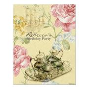 French Country Garden Birthday Tea Party