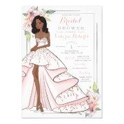 Glam Girl Bridal Shower Invitation