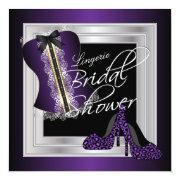 Glamorous Lingerie Bridal Shower   Purple