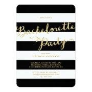 Glitter and Glam | Bachelorette Party Invitation