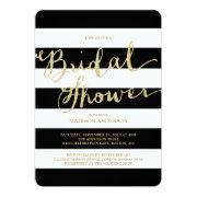 Glitter and Glam | Bridal Shower Invitation