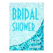 Glitz Blue Curve 'bridal Shower'