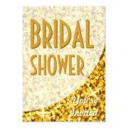 "Glitz ""gold"" Curve 'bridal Shower'"