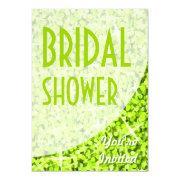 Glitz Lime Curve 'bridal Shower'