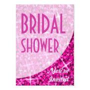 Glitz Pink Curve 'bridal Shower'