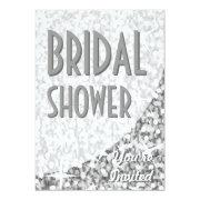 "Glitz ""silver"" Curve 'bridal Shower'"