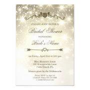 Gold Glitter Sparkles - Bridal Shower